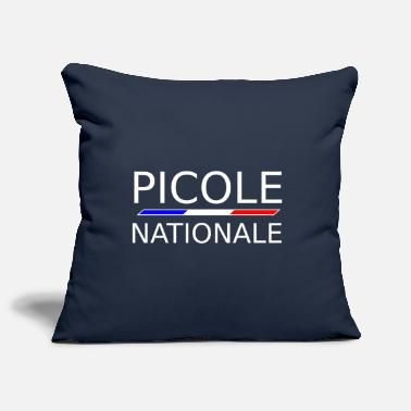 National Picole Nationale - Housse de coussin décorative 44 x 44 cm