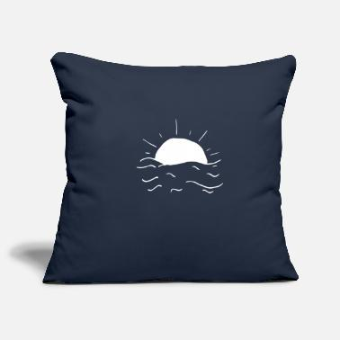 Sea sea - Pillowcase 17,3'' x 17,3'' (45 x 45 cm)