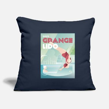 Lido Save Grange Lido Diver - Pillowcase 17,3'' x 17,3'' (45 x 45 cm)