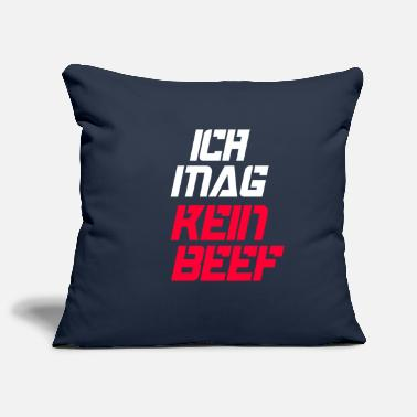 No Beef I do not like beef - Pillowcase 17,3'' x 17,3'' (45 x 45 cm)