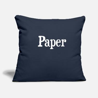 Paper paper - Pillowcase 17,3'' x 17,3'' (45 x 45 cm)