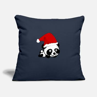 Christmas Panda, Panda, Christmas - Pillowcase 17,3'' x 17,3'' (45 x 45 cm)