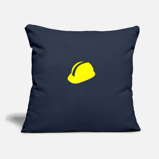 Hatch Pillow Cases - hard hat - Pillowcase 17,3'' x 17,3'' (45 x 45 cm) navy
