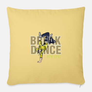 Break Dance break dancing - Pillowcase 17,3'' x 17,3'' (45 x 45 cm)