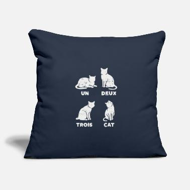 Un Deux Trois Cat - Cats T-Shirt - Pillowcase 17,3'' x 17,3'' (45 x 45 cm)