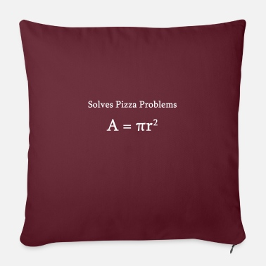 Pi Math pizza equazione matematico nerd science - Copricuscino