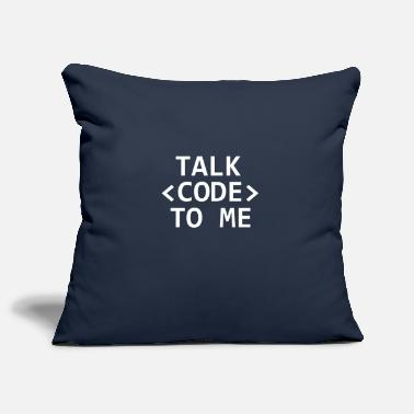 Uni Talk Code To Me Programmeur Computerwetenschapper Nerd - Kussenhoes