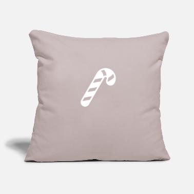 Candy Canes candy Cane - Pillowcase 17,3'' x 17,3'' (45 x 45 cm)