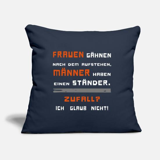 Guys Night Out Pillow Cases - funny saying women yawning men have ... - Pillowcase 17,3'' x 17,3'' (45 x 45 cm) navy