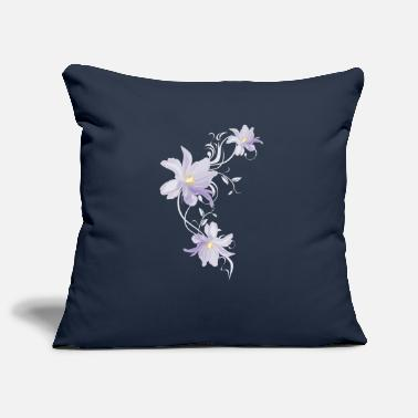 Lilac Lilac tulips - Pillowcase 17,3'' x 17,3'' (45 x 45 cm)