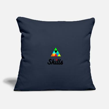 Skill skills - Pillowcase 17,3'' x 17,3'' (45 x 45 cm)