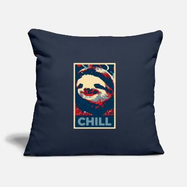 Sloth Chill Hope Style - Pillowcase 17,3'' x 17,3'' (45 x 45 cm)