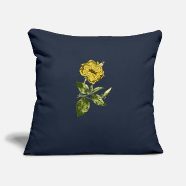 Package Yellow hibiscus | Valentine's Day women's Day - Pillowcase 17,3'' x 17,3'' (45 x 45 cm)