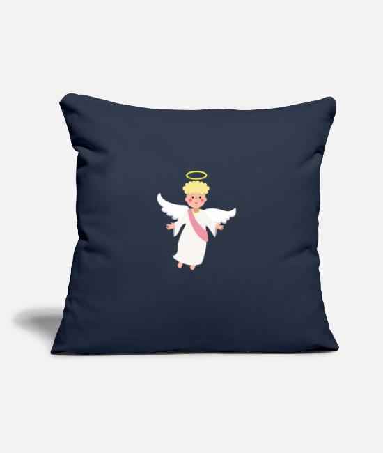 Wing Pillow Cases - Angel - Pillowcase 17,3'' x 17,3'' (45 x 45 cm) navy