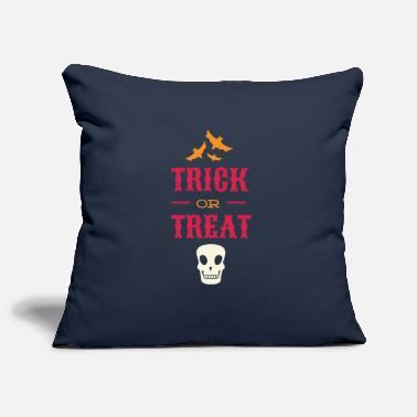 Beggar Halloween Bats and Skull Trick or Treat - Pillowcase 17,3'' x 17,3'' (45 x 45 cm)