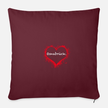 Osnabrück fashion - Pillowcase 17,3'' x 17,3'' (45 x 45 cm)