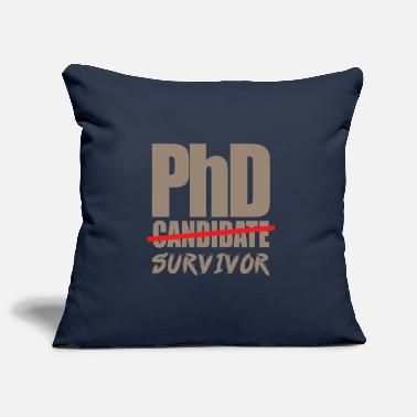 Uni Graduation gift Phd Uni saying - Pillowcase 17,3'' x 17,3'' (45 x 45 cm)