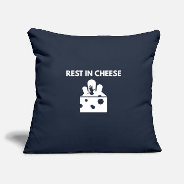 Rest REST IN cheese - Kissenhülle