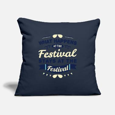 Music Open Air Festival Gift Party Celebrate Music Open Air - Pillowcase 17,3'' x 17,3'' (45 x 45 cm)