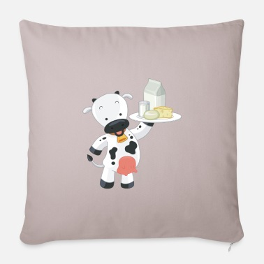 Dairy Dairy products - Pillowcase 17,3'' x 17,3'' (45 x 45 cm)