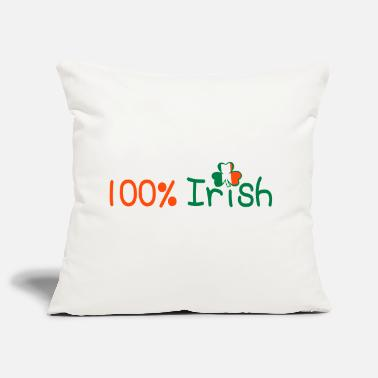 ♥ټ☘Kiss Me I'm 100% Irish-Irish Rule☘ټ♥ - Sofa pillow cover 44 x 44 cm