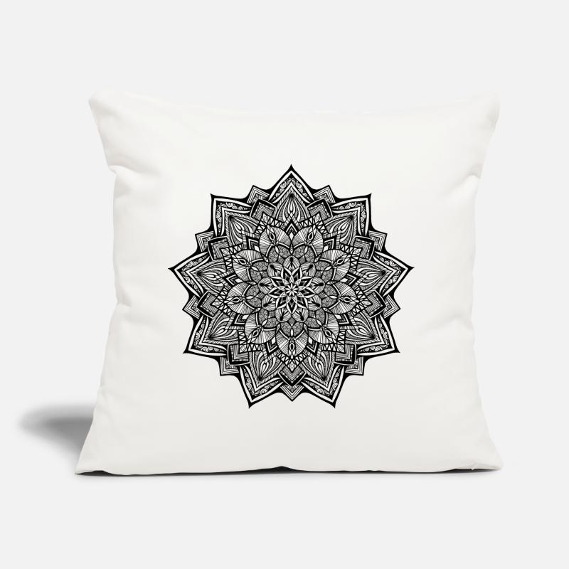 Homedecor Pillow cases - Elements Earth Black - Pillow Case natural white