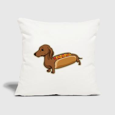 Hot Dog - Sofa pillow cover 44 x 44 cm