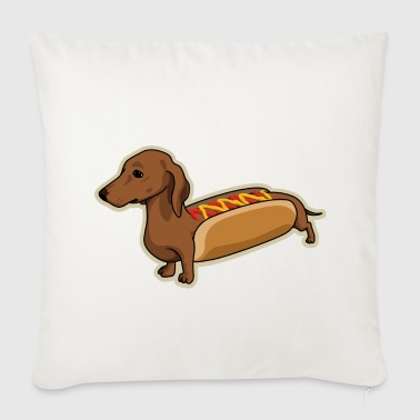 Hot Dog - Sofaputetrekk 44 x 44 cm