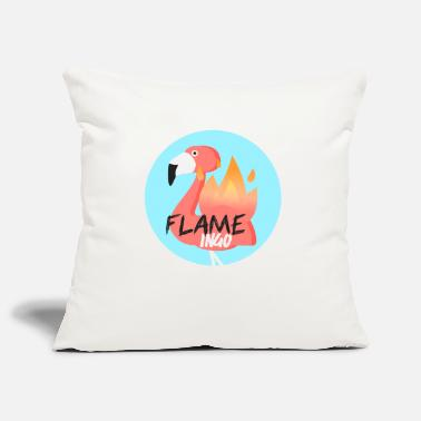 Officialbrands Flame Ingo Flamingo T-Shirt - Sofakissenbezug 44 x 44 cm