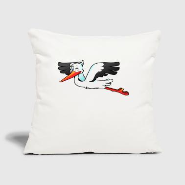 stork - Sofa pillow cover 44 x 44 cm