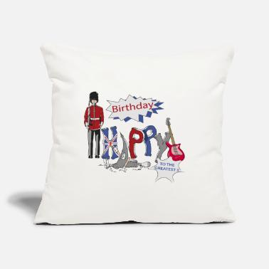 Happy Birthday happy birthday Great Britain - Housse de coussin décorative 44 x 44 cm