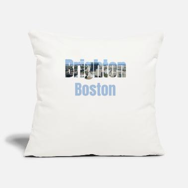 Community Brighton Boston, USA Maa, Kaupunki Neigborhood Tourist Gifts - Sohvatyynyn päällinen 44 x 44 cm
