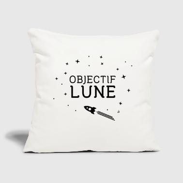 To the moon - Moon Lens - Sofa pillow cover 44 x 44 cm