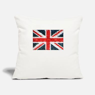 Union Jack Brick Wall - Sofa pillowcase 17,3'' x 17,3'' (45 x 45 cm)