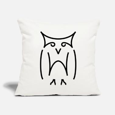 hiboux - Sofa pillow cover 44 x 44 cm