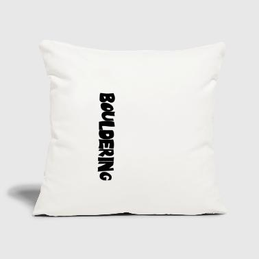 Wall Prints Sports Bouldering Print Men - White - Sofa pillow cover 44 x 44 cm