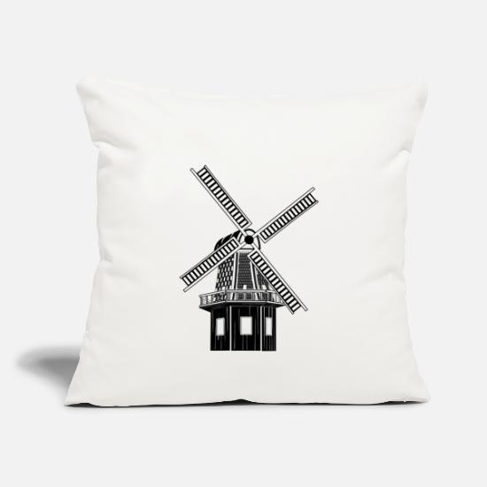 Turbine Pillow Cases - windmill windmill wind turbine windrad19 - Pillowcase 17,3'' x 17,3'' (45 x 45 cm) natural white