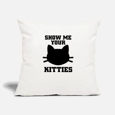 Show me your kitties - Sofa pillow cover 44 x 44 cm