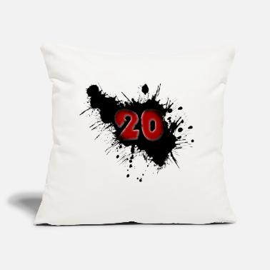Date Of Birth Date of birth 20 years - Pillowcase 17,3'' x 17,3'' (45 x 45 cm)