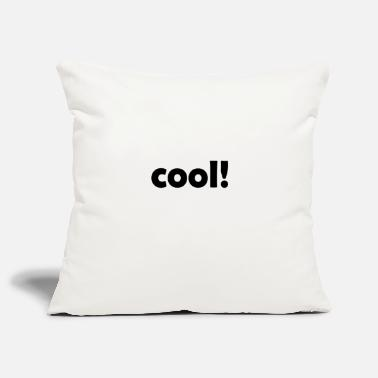 Cool cool cool cool - Sofa pillow cover 44 x 44 cm