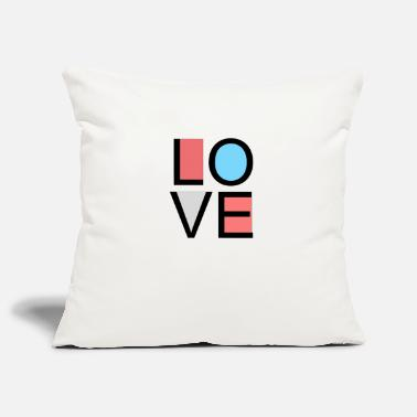 love - Sofa pillowcase 17,3'' x 17,3'' (45 x 45 cm)