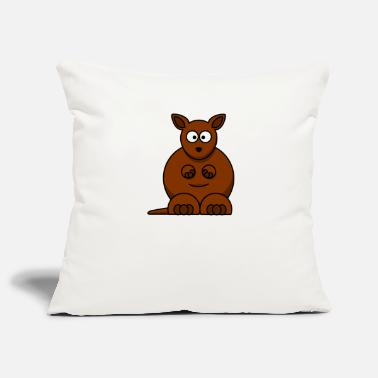 Kangaroo kangaroo - Pillowcase 17,3'' x 17,3'' (45 x 45 cm)