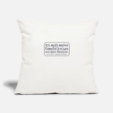 Punctuation Marks Do not be a psycho - using punctuation mark - Pillowcase 17,3'' x 17,3'' (45 x 45 cm)