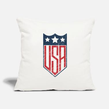 Shield USA Shield - Housse de coussin décorative 45 x 45 cm