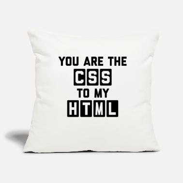 Geek CSS To My HTML Funny Quote - Housse de coussin