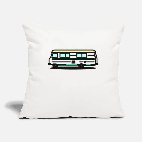 Camper Pillow Cases - caravan - Pillowcase 17,3'' x 17,3'' (45 x 45 cm) natural white