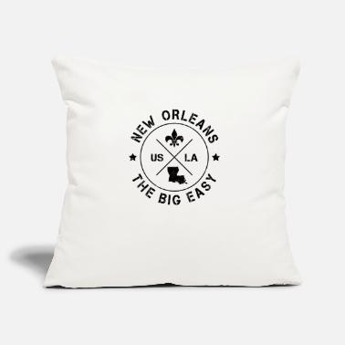 Louisiana New Orleans Louisiana United States Jazz Mardi Gras Big Easy - Pillowcase 17,3'' x 17,3'' (45 x 45 cm)