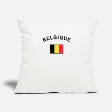 Used Belgien belgisch Flagge Fahne used-look - Kissenhülle