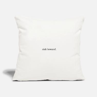 Reward risk / reward design - Pillowcase 17,3'' x 17,3'' (45 x 45 cm)