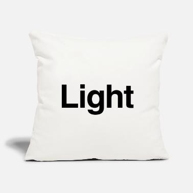 Light - Pillowcase 17,3'' x 17,3'' (45 x 45 cm)